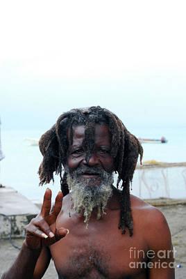 Photograph - Native Man by Gary Wonning