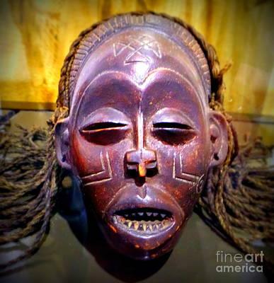 Photograph - Native Mask by John Potts
