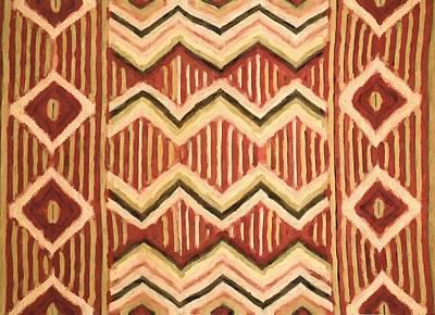 Ancestor Art Mixed Media - Native Pattern by Dan Sproul