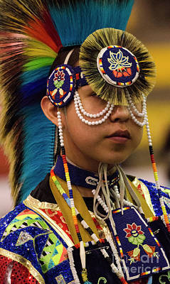 Beadwork Photograph - Native Pride 19 by Bob Christopher