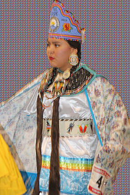 Photograph - Native Princess by Audrey Robillard