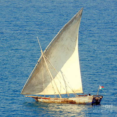 Photograph - Native Sail Boat by John Potts