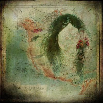 Painting - Native Spirit Map by Christina VanGinkel