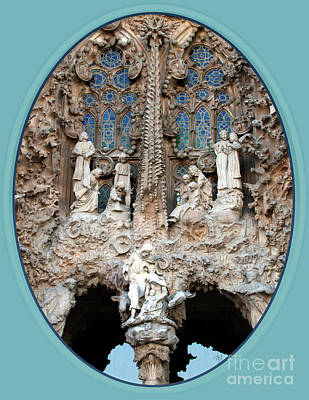 Art Print featuring the photograph Nativity Barcelona by Victoria Harrington