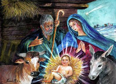 Nativity Original by Franco Puliti