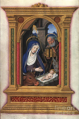 Photograph - Nativity, French, C1510 by Granger