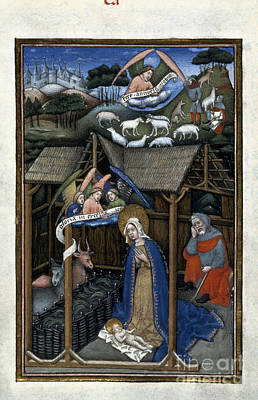 Photograph - Nativity by Granger