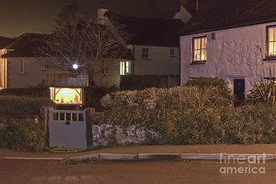 Photograph - Nativity In A Mylor Bridge Garden by Terri Waters