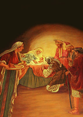 Photograph - Nativity Jerusalem by Munir Alawi
