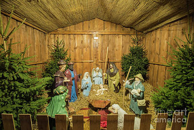 Photograph - Nativity Scene by Juli Scalzi