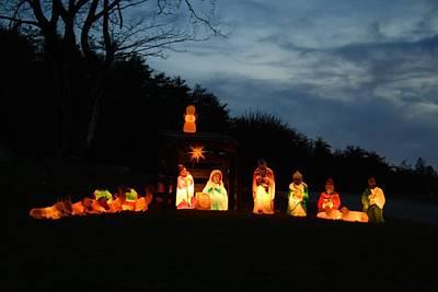 Photograph - Nativity Scene by Kathryn Meyer