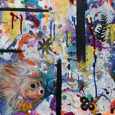 Acrylic Painting - Natrual.mystics.ii by A MiL