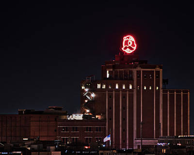 Photograph - Natty Boh Neon Sign by Mark Dodd