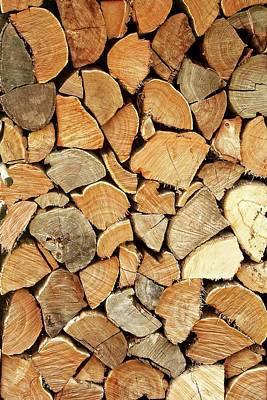 Susann Serfezi Photograph - Natural Wood by AugenWerk Susann Serfezi