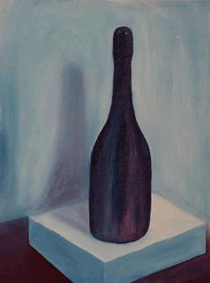 Painting - Natura Morta Wine Study by Garry McMichael
