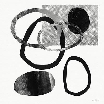 Mixed Media - Natural Balance 2- Abstract Art By Linda Woods by Linda Woods