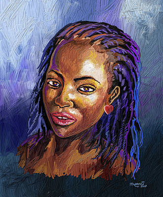 Painting - Natural Beauty by Anthony Mwangi