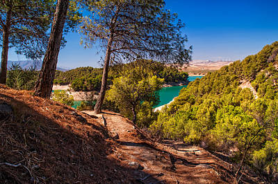 Photograph - Natural Beauty Of El Chorro. Spain by Jenny Rainbow