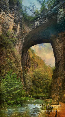 Photograph - Natural Bridge by Beth Ferris Sale