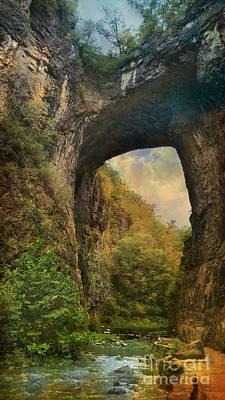 Photograph - Natural Bridge by Beth Ferris Sale