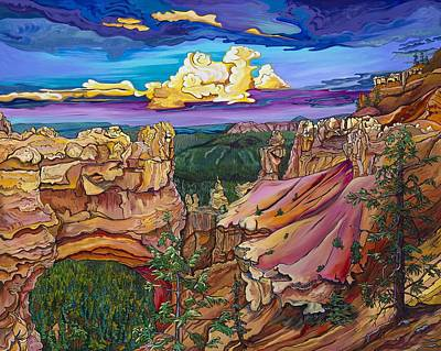 Painting - Natural Bridge - Bryce Canyon by Alexandria Winslow