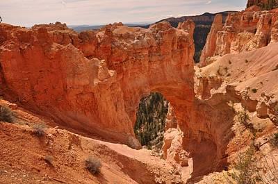 Photograph - Natural Bridge Bryce Canyon National Park by Frank Madia