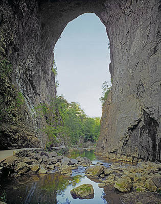 Photograph - 143202-natural Bridge In Virginia  by Ed  Cooper Photography