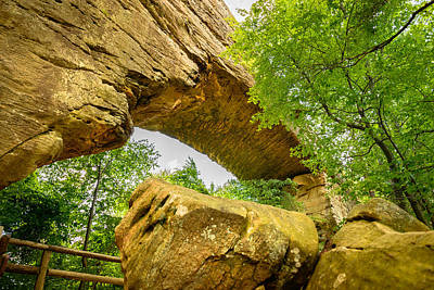 Photograph - Natural Bridge  by Michael Scott