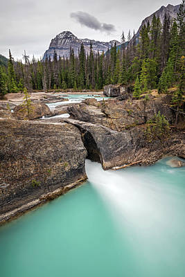Photograph - Natural Bridge Of Yoho National Park by Pierre Leclerc Photography