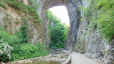 Photograph - Natural Bridge Virginia by Charlotte Gray