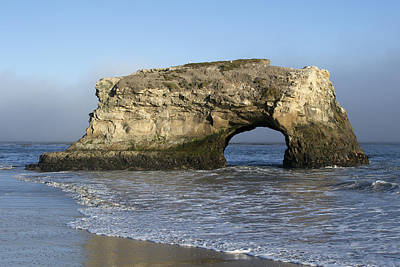 Natural Bridges State Park - Santa Cruz - California Art Print