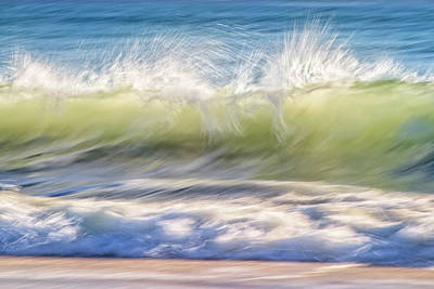 Print featuring the photograph Natural Chaos, Quinns Beach by Dave Catley