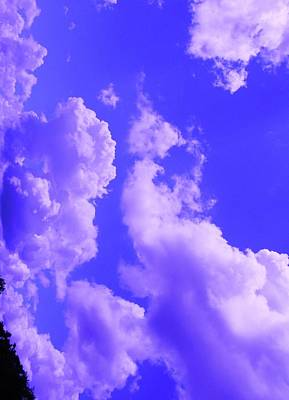 Foot Stool Photograph - Natural Cloud Sculptures Ten by Robin Coaker