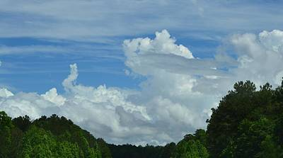 Photograph - Natural Clouds by Eileen Brymer