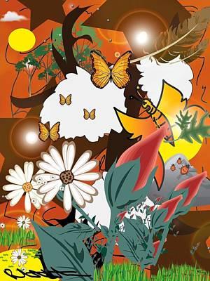Natural Color Life Art Print