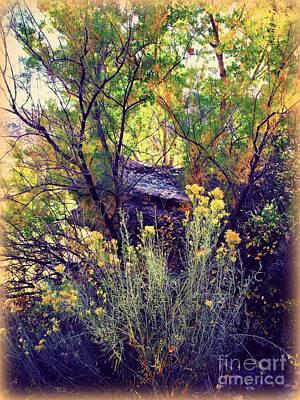 Digital Art - Natural Fall Arrangment by Annie Gibbons
