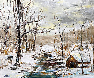 Painting - Natural Forest by Kevin Brown