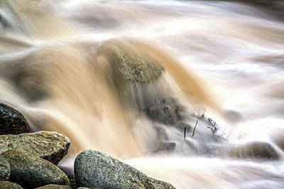 Photograph - Natural Fountain by Maria Coulson