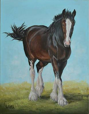 Painting - Natural Pose by Cindy Welsh