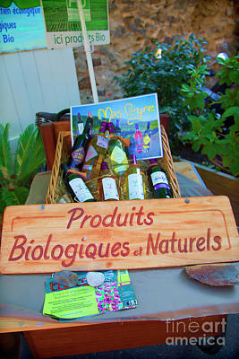 Photograph - Natural Products France   by Chuck Kuhn