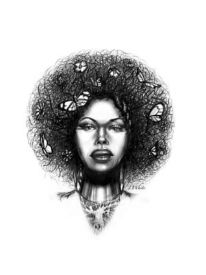 Drawing - Natural Roots by Jerome White