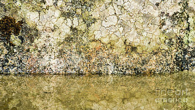 Photograph - Natural Stone Background by Torbjorn Swenelius