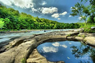 Photograph - Natural Swimming Pool by Adam Jewell