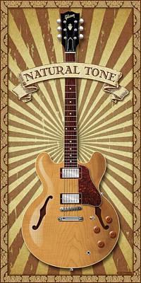 Digital Art - Natural Tone 335 by WB Johnston