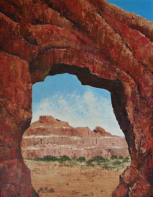 Painting - Natural Window by Margaret Bobb