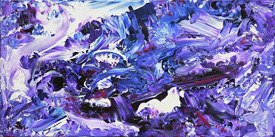 Painting - Naturals - Amethyst - H by Julie Turner