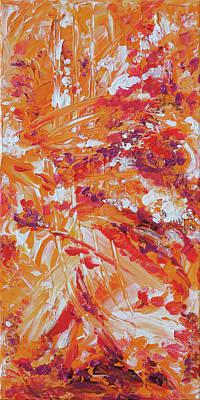 Painting - Naturals - Coral - V by Julie Turner