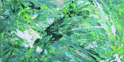 Painting - Naturals - Malichite - H by Julie Turner