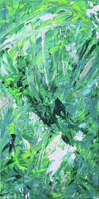 Painting - Naturals - Malichite - V by Julie Turner
