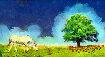 Landscape Painting - Nature 3 by George Rossidis